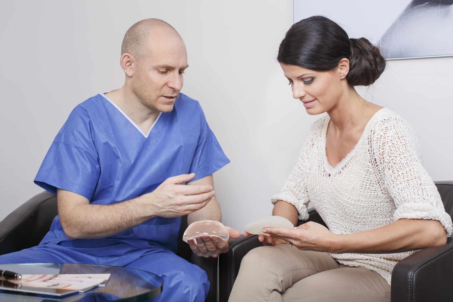 Brustvergrößerung, Implantat, Beratung