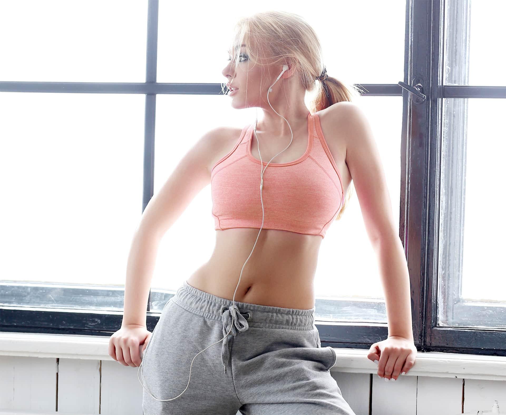 Brustvergrößerung Sport