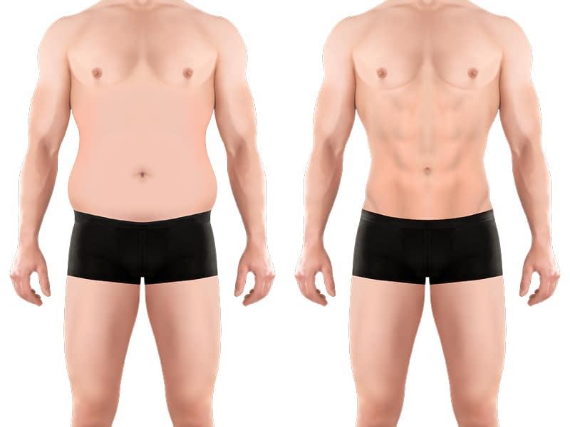 Bauch für Männer abnehmen